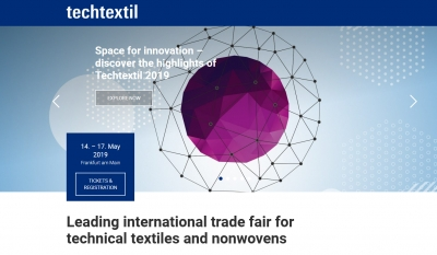 Industrial SEDÓ will be present at the Techtextil fair from May 14 to 17 in Frankfurt