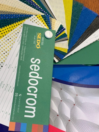 New sample of SEDOCROM, woven in grid for all types of applications.