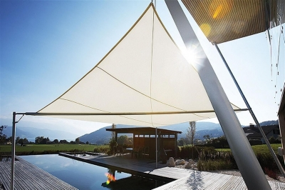 Manufacture of technical solar fabrics awnings